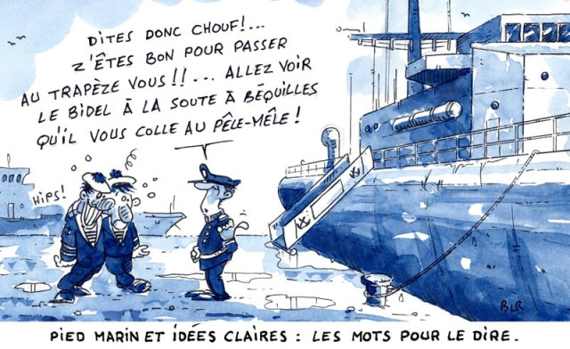 langage maritime